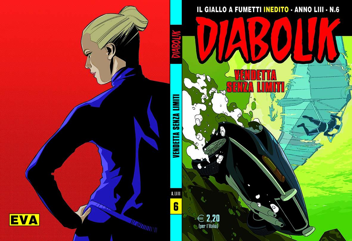 Diabolik, la svolta verde dell'eroe nero