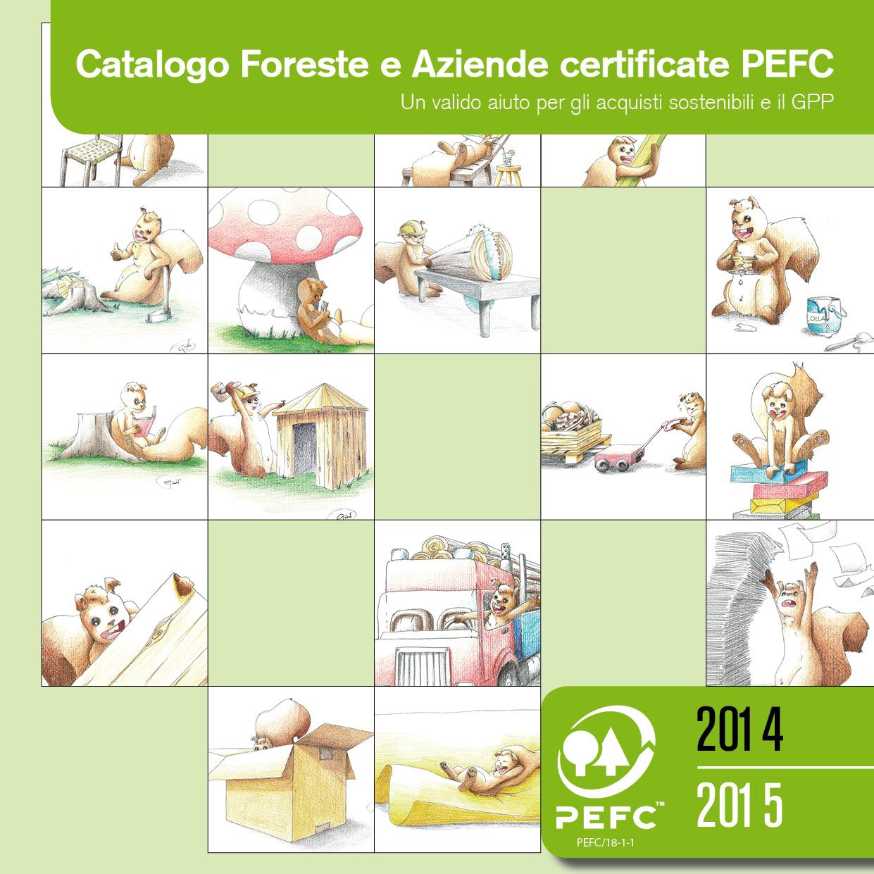 Il nuovo Catalogo delle foreste e aziende certificate PEFC 2014-2015 è online!