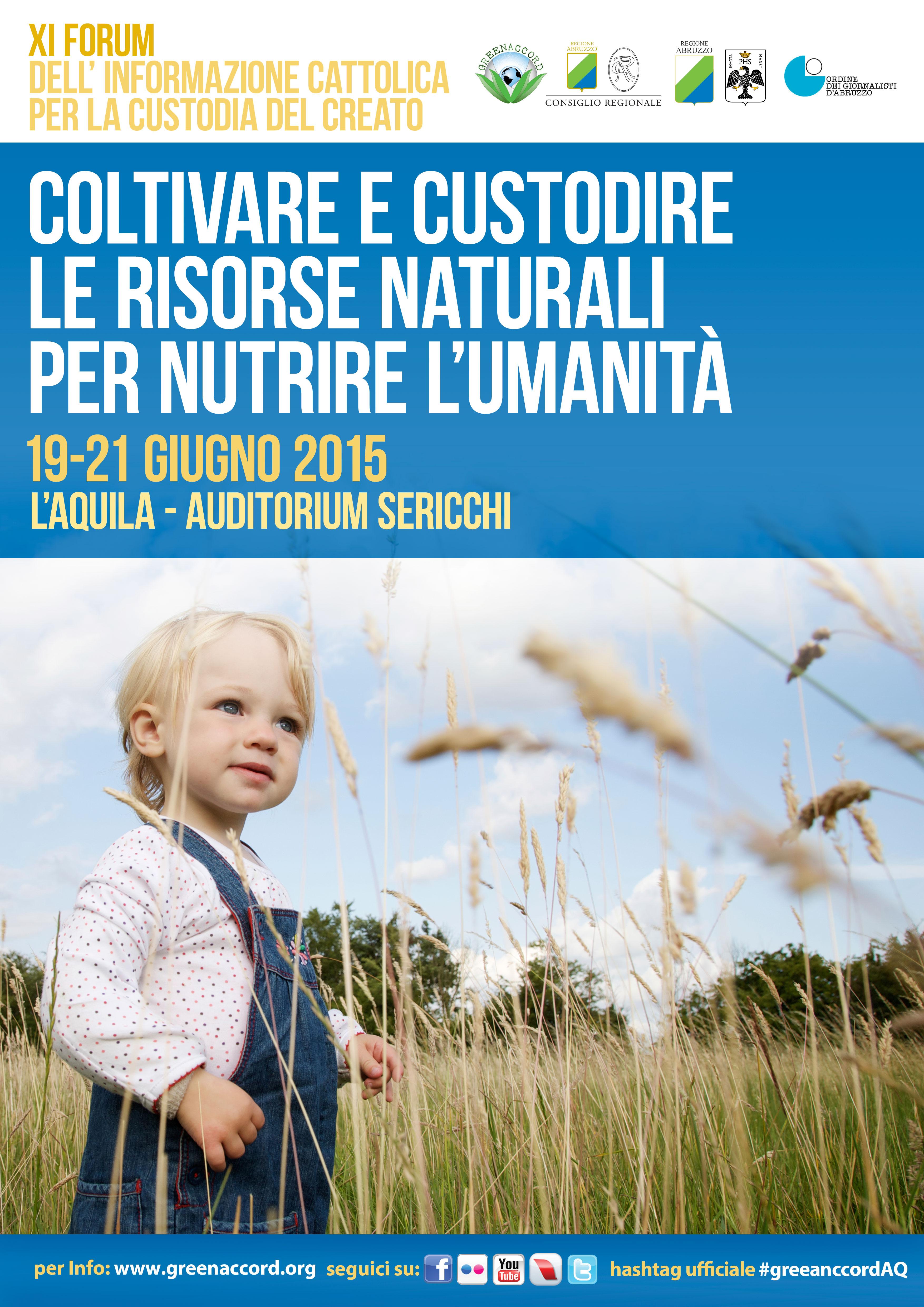 A L'Aquila l'XI Forum Greenaccord con il patrocinio di PEFC Italia