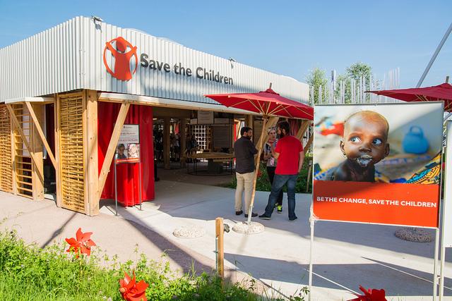 """Speciale EXPO – Ad Expo il padiglione di """"Save the Children"""" è PEFC!"""