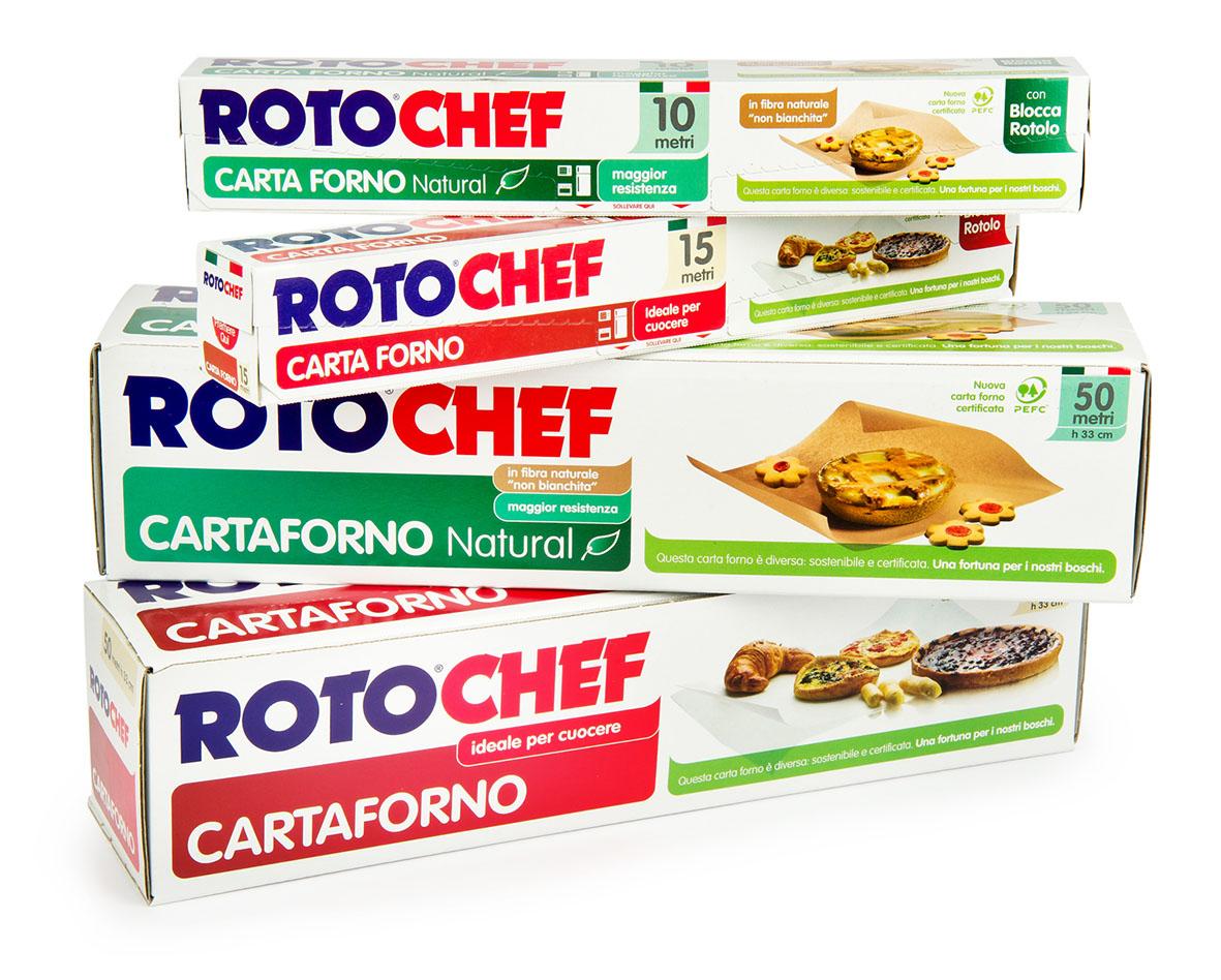 Prodotto del mese: Carte da forno Rotochef: per chi ama la natura