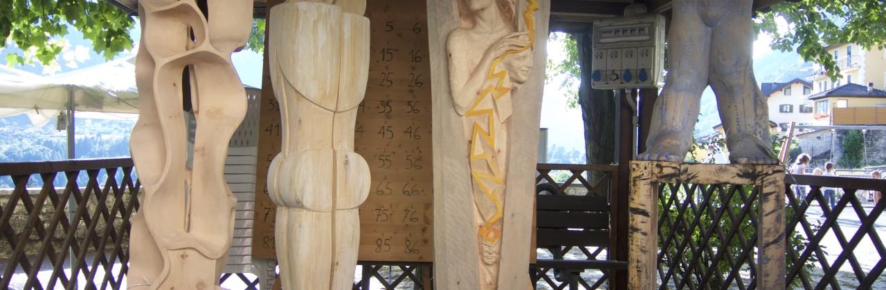 Sculture in legno: PEFC in festa nel Tesino