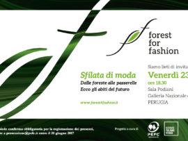 Forest for fashion: la moda che diventa sostenibile