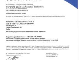 """Con la certificazione del """"Gruppo GFS Legno Locale"""", PEFC arriva nel Lazio!"""